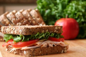 Throw out your white bread and start using whole wheat bread in your sandwiches instead.
