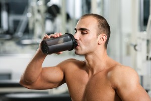 Protein shakes pack a muscle-building punch.